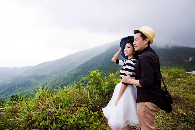 Vợ Lam Trường khoe ảnh cưới chụp ở đèo Hải Vân 4 năm trước - 2