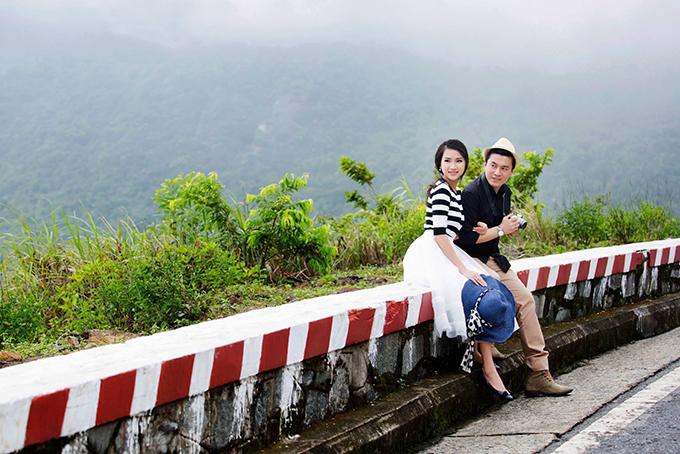Vợ Lam Trường khoe ảnh cưới chụp ở đèo Hải Vân 4 năm trước - 4