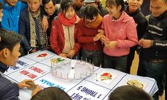 Đánh bạc công khai ở lễ hội đền Tép Thanh Hóa
