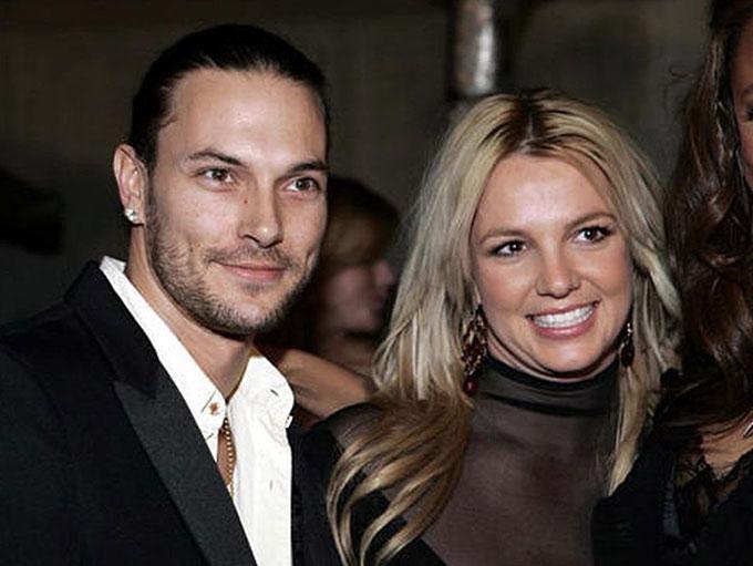 Kevin và Britney thời còn bên nhau.