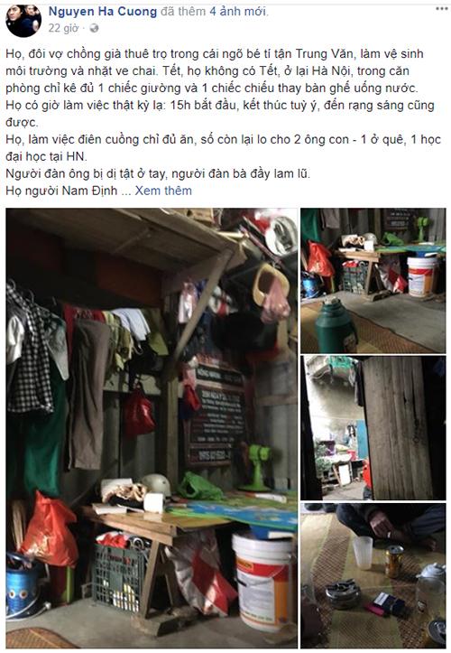 Câu chuyện của Nguyễn Hà Cường chia sẻ trên trang cá nhân đang được cộng đồng quan tâm.