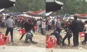 Nam thanh niên bị truy sát lúc đi lễ chùa Đậu