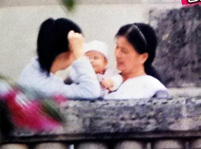 Con gái Quách Phú Thành lầnđầu lộ diện hồi cuối năm ngoái.