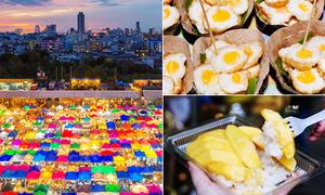 12 món ngon ứa nước miếng ở chợ đêm Bangkok