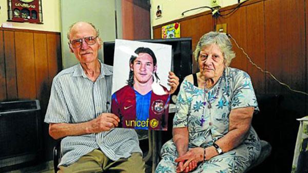 Ông bà ngoại là người ảnh hưởng lớn tới Messi
