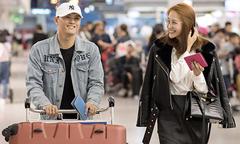 Linh Chi, Lâm Vinh Hải đi Hàn Quốc cùng nhau sau tin tái hợp