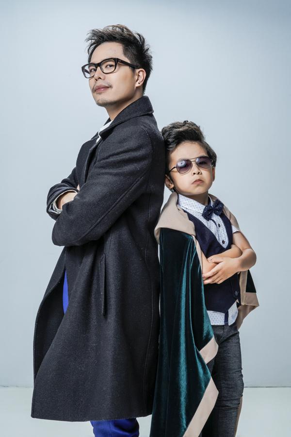 Trịnh Thăng Bình và bé Coca trong phim.