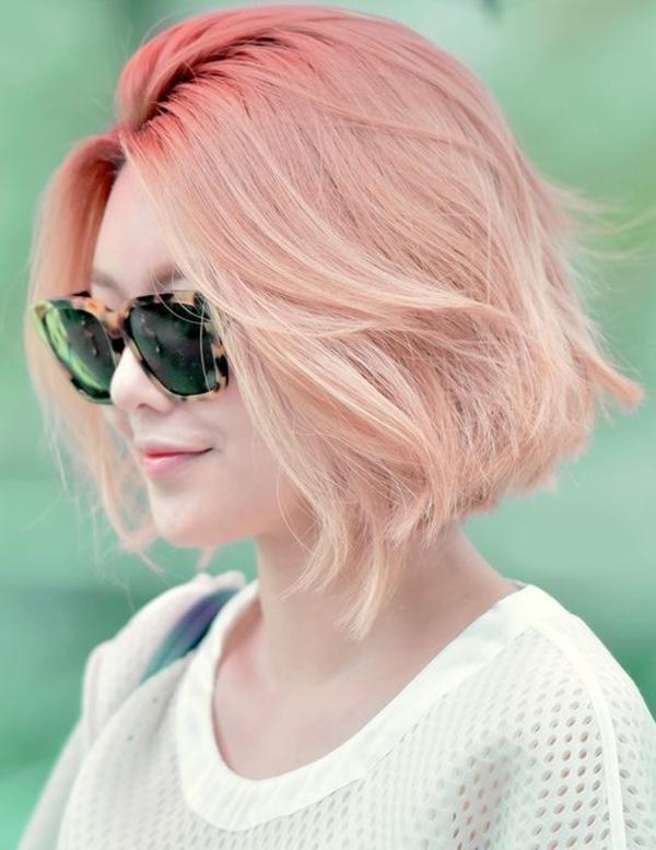 Sooyoung vừa cá tính vừa quyến rũ với màu nhuộm sáng