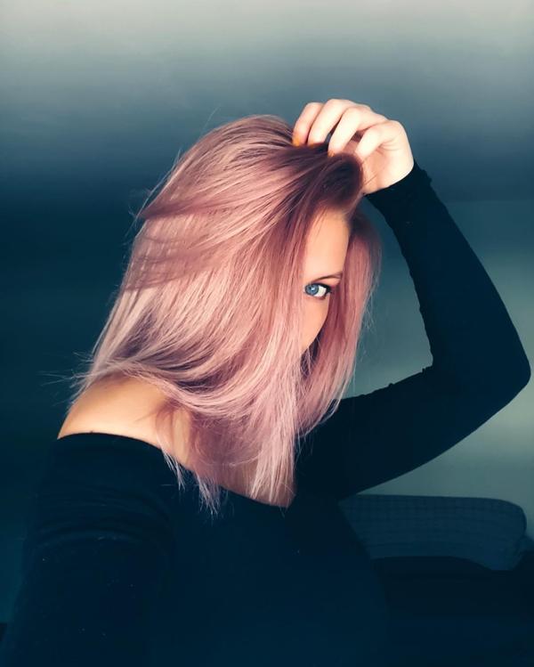 Màu tóc này hợp với dáng tóc suôn thẳng.