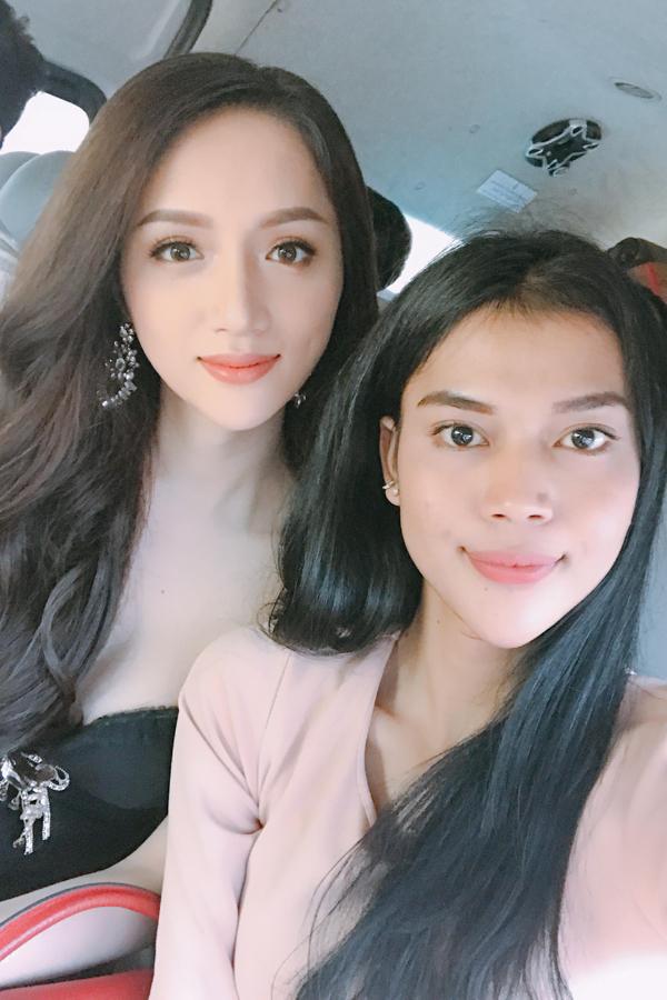 Hương Giang rạng rỡ gặp gỡ ban tổ chức Hoa hậu Chuyển giới Quốc tế - 3