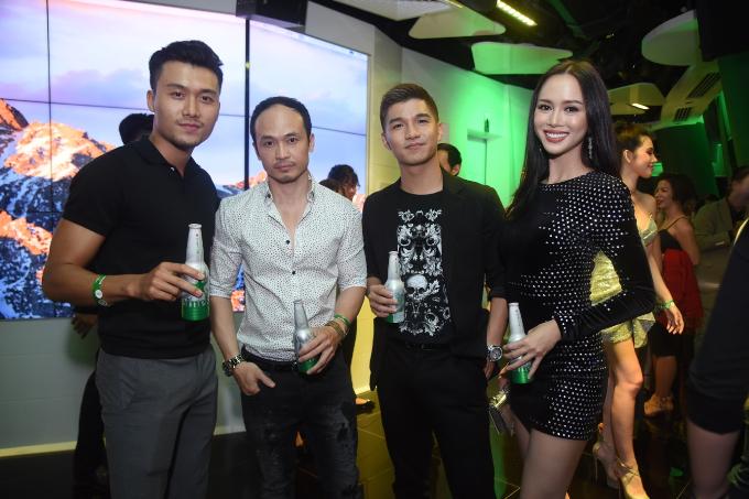 Dàn sao Việt đón năm mới tại The World of Heineken - 2