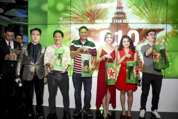 Dàn sao Việt đón năm mới tại The World of Heineken - 4
