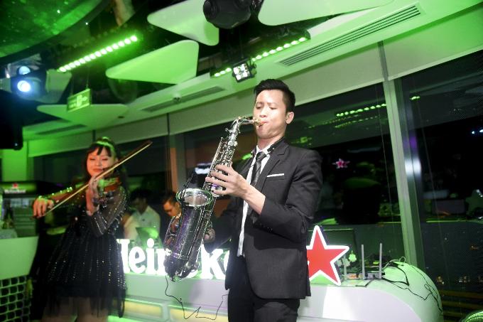 Dàn sao Việt đón năm mới tại The World of Heineken - 3