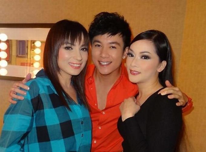Như Quỳnh và Phi Nhung là bạn bè thân thiết nhiều năm ở hải ngoại.