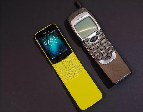 Nokia 8110 là mẫu điện thoại khá nổi tiếng, từng xuất hiện trong bộ phim Ma trận vào năm 1999, sử dụng bởi nhân vật Neo. Máy ra mắt năm 1996 với các tính năng chỉ ở mức cơ bản như công nghệ GSM, màn hình đơn sắc 4x13 ký tự, danh bạ 125 số, nhạc chuông đơn âm, pin 400 mAh...