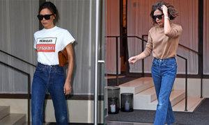 Bí quyết bảo quản quần jeans của Victoria Beckham