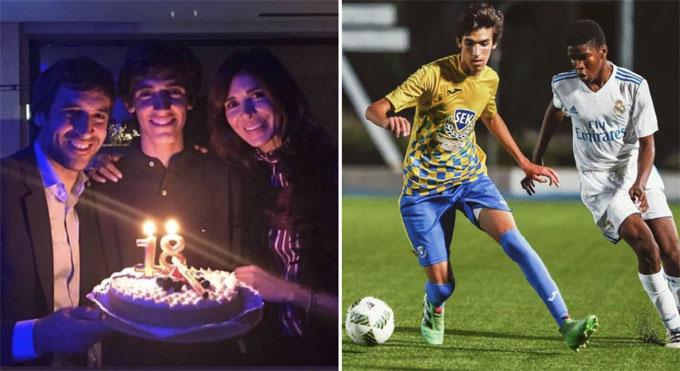 Vợ chồng Raul mừng con trai tròn 18 tuổi