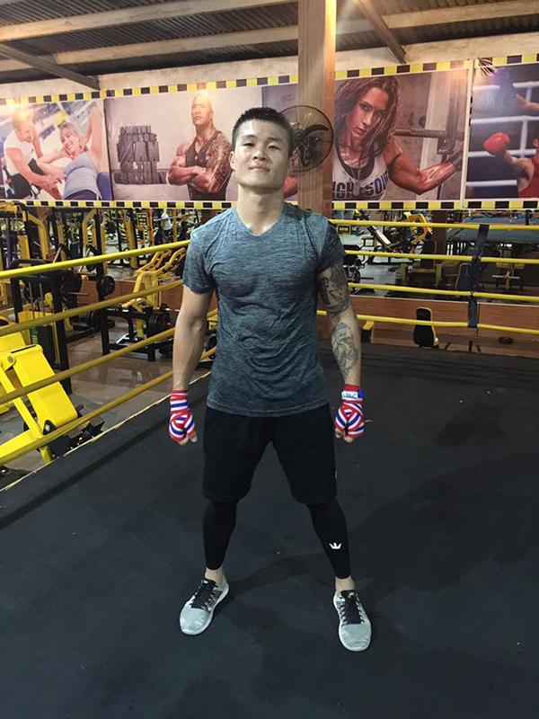 Võ sĩ boxing Trương Đình Hoàng. Ảnh: FB.