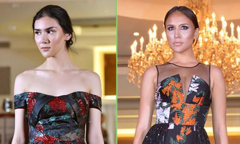 Dàn hoa hậu trình diễn cho nhà thiết kế Việt tại New York Fashion Week