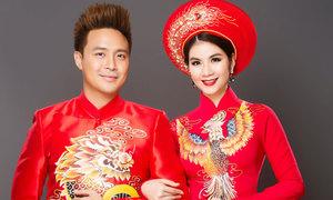 Cùng Kha Ly - Thanh Duy chọn áo dài đôi cho tân lang, tân nương