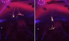 Diễn viên xiếc tuột dây rơi từ độ cao 6 m khi đang biểu diễn