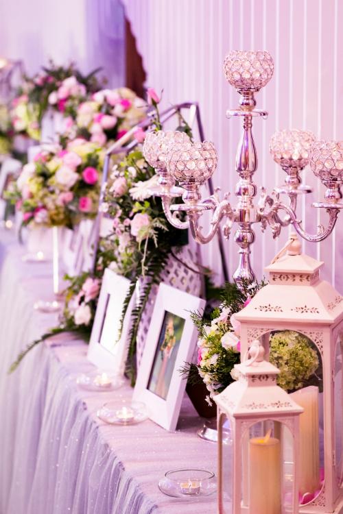 Sảnh tiệc tại Callary luôn được trang hoàng lộng lẫy, mang đến trải nghiệm thú vị cho các cặp đôi và khách mời.