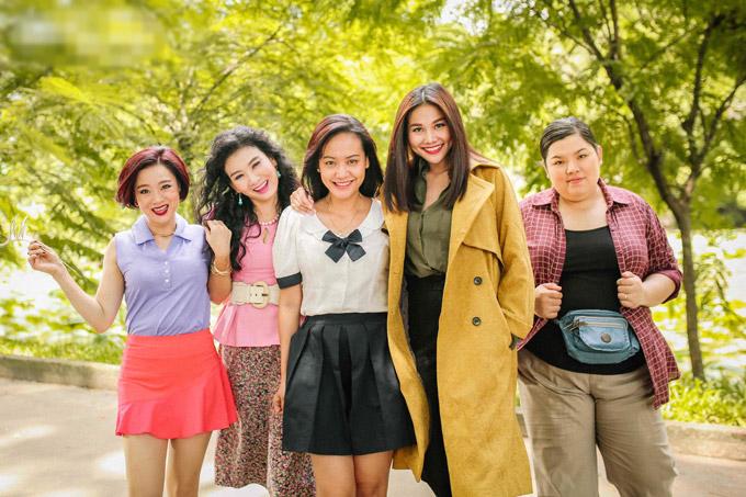 Hồng Ánh mặc đồng phục học sinh, đánh lộn trong phim của Dũng Khùng - 7