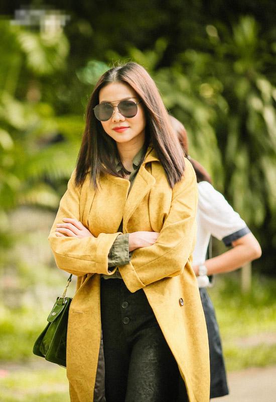Hồng Ánh mặc đồng phục học sinh, đánh lộn trong phim của Dũng Khùng - 8