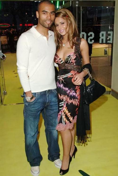 A. Cole và người đẹp Cheryl ngày còn bên nhau.