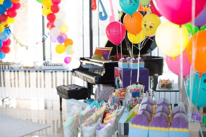Vợ chồng Đan Trường tổ chức sinh nhật cho con trai tại biệt thự triệu đô