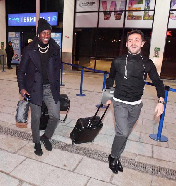 Benjamin Mendy và Bernardo Silva là hai cầu thủ tươi nhất của Man City