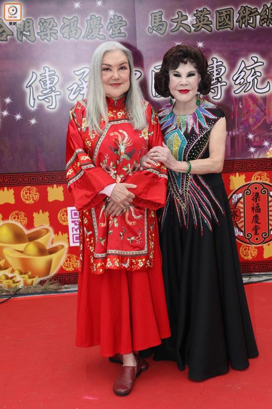 Hai búp bê màn ảnh Hong Kong mặt biến dạng ở tuổi lên lão - 1