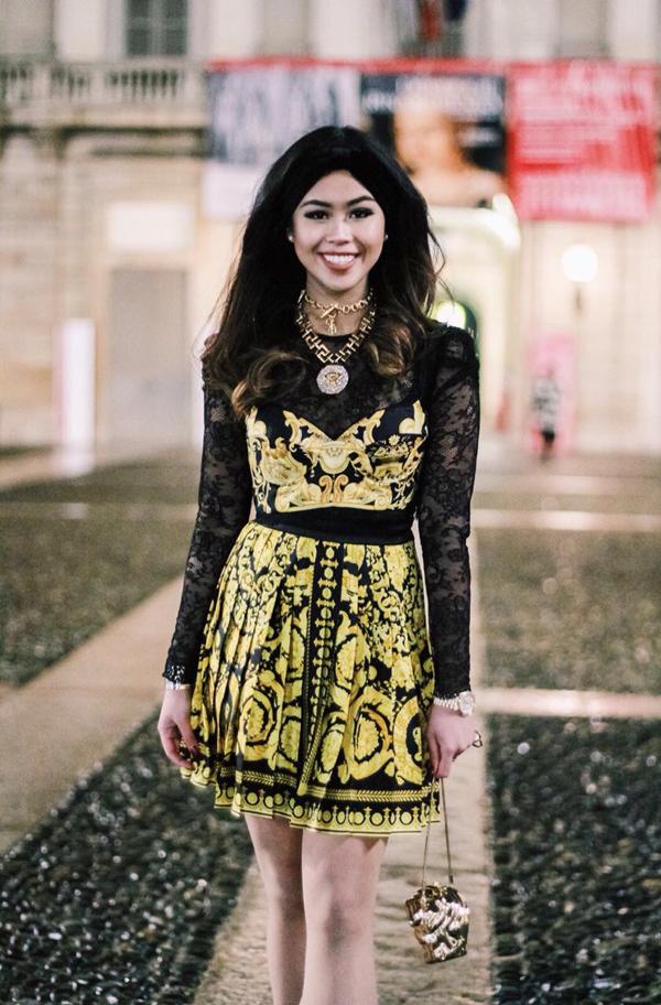 Những mẫu váy áo, phụ kiện của mùa mốt 2018 được Thảo Tiên nhanh chóng cập nhật.