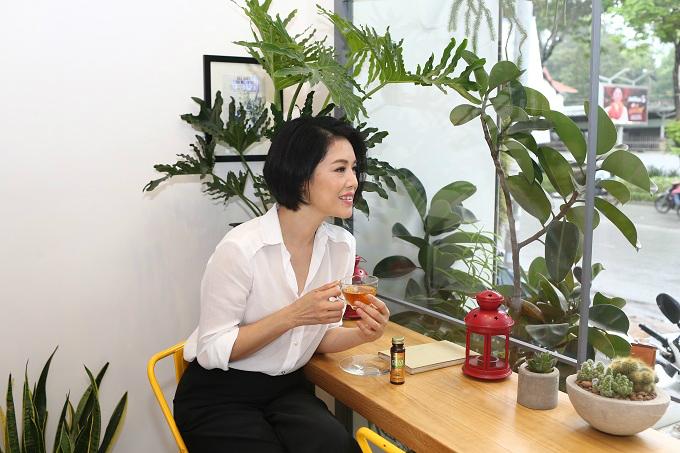 Thu Phương: Phụ nữ càng bận rộn, càng phải tự chăm sóc mình