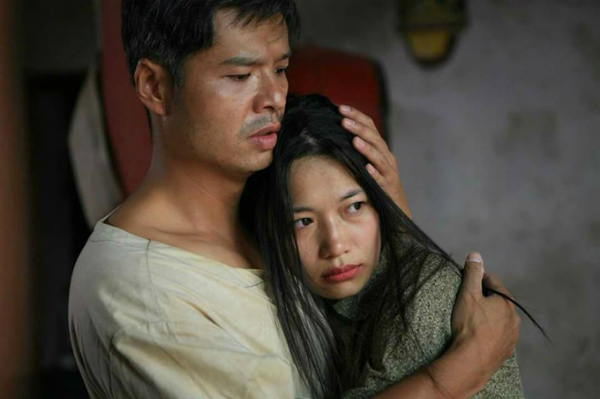 Trà My và Lâm Vissay trong Thương nhớ ở ai.