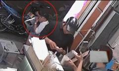 Thanh niên giả vờ mua trà sữa để bẻ khóa xe máy