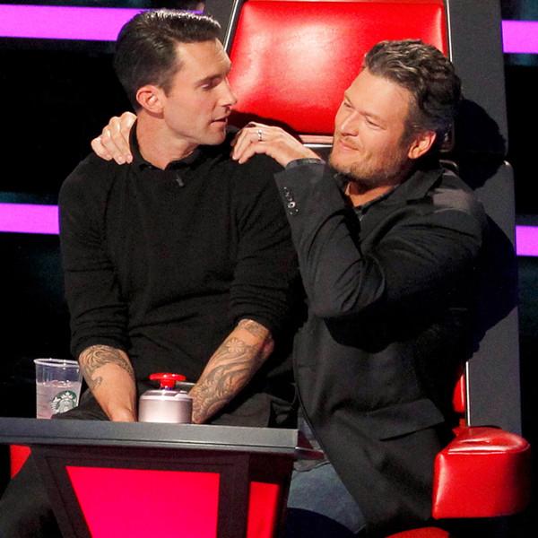 Blake Shelton đã chia sẻ với Adam về những điều tuyệt vời của cuộc sống hôn nhân.