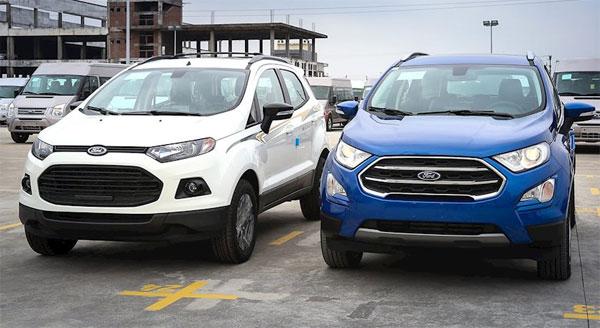 Ford EcoSport 2018 có thể chốt giá từ 530 triệu đồng