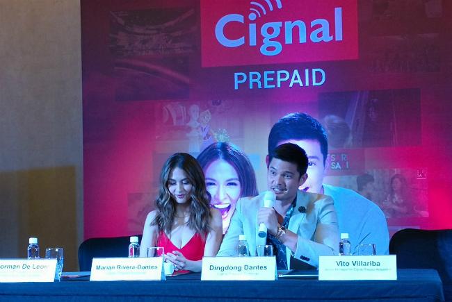 Chồng mỹ nhânđẹp nhất Philippines không ngừngâu yếm vợ tại buổi họp báo - 6