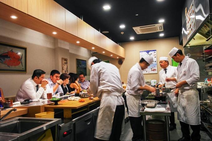 Ăn kiểu Omakase - thực khách không có quyền chọn món