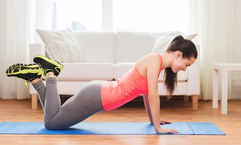 10 phút tập luyện sau giờ làm giúp giảm mỡ bụng dưới hiệu quả