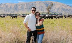 Nguyên Khang đưa mẹ đi du ngoạn New Zealand