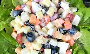 Salad hoa quả tươi thanh mát và đẹp da