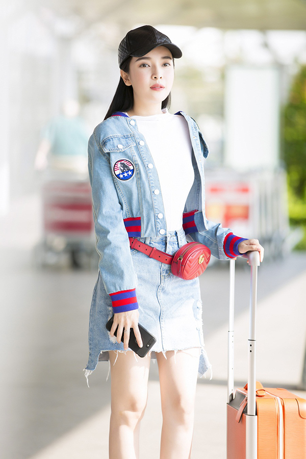 Cao Thái Hà sẽ có mặt tại Đà Nẵng trong hai ngày để quay TVC quảng cáo mỹ phẩm, sau đó trở về TP HCM tiếp tục quay phim Giông bão.