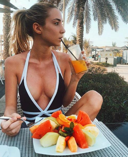 Alice Campello là người mẫu kiêm hot blogger thời trang có tiếng tại Italy.