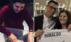 Mẹ C. Ronaldo gây kinh ngạc vì cách nấu ăn lạ