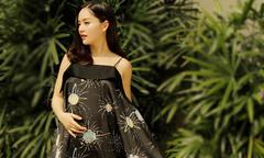 Mang bầu 6 tháng, Lan Phương tăng 15kg