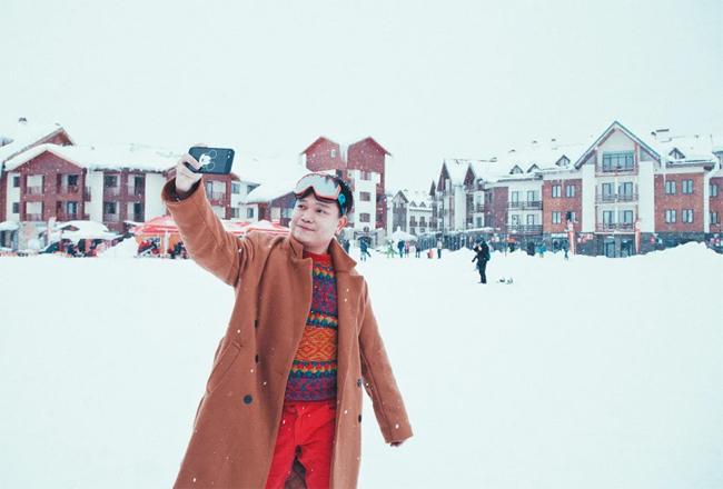 Trịnh Tú Trung chia sẻ kinh nghiệm tới thị trấn tuyết Gudauri - 2