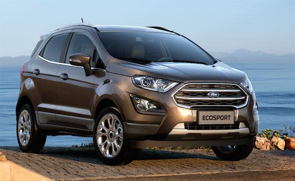 Ford EcoSport 2018 giá từ 545 triệu đồng tại Việt Nam