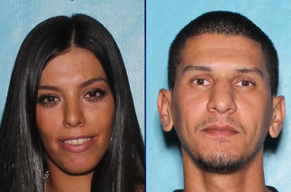 Hai nghi phạmSalma Hourrieh (trái) và